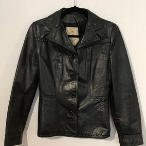 Jackets & Blazers - Vintage Gassy Jack leather jacket